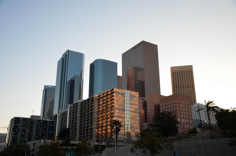 Sunset Downtown LA