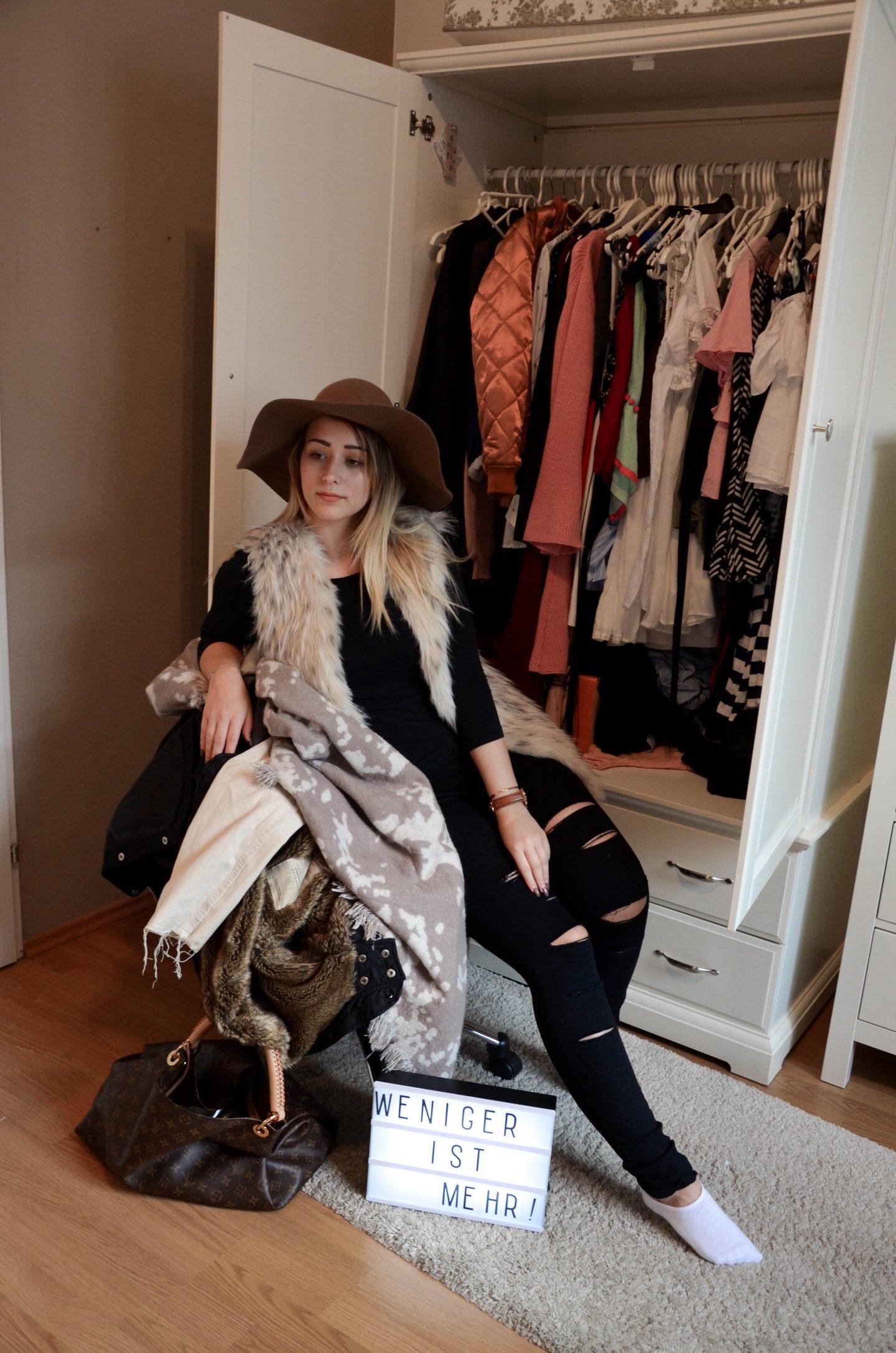 Vanessa am Stuhl